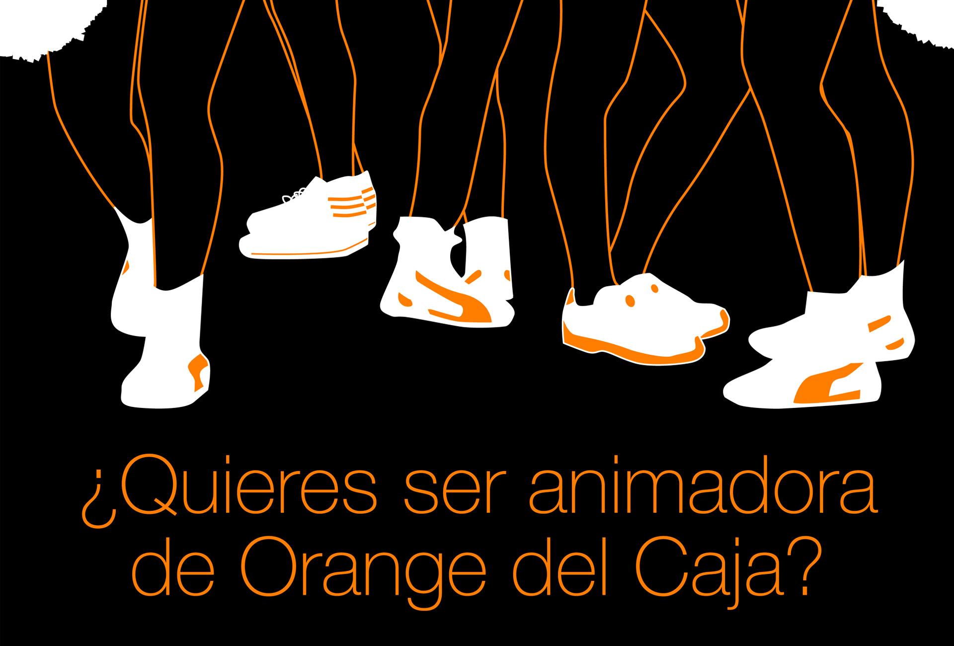 Orange - Animadoras Cajasol