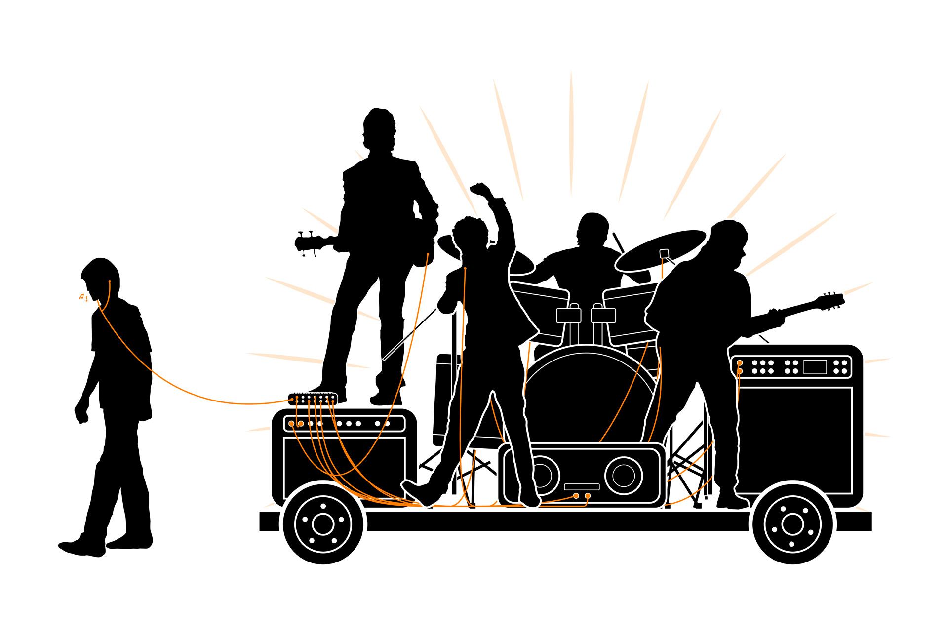 Orange - Sol y música