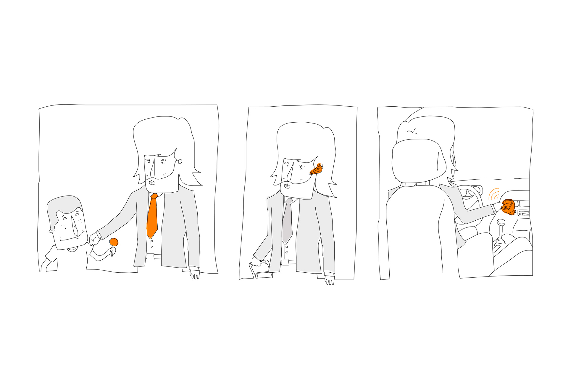 Orange - Día del padre (diagrama)