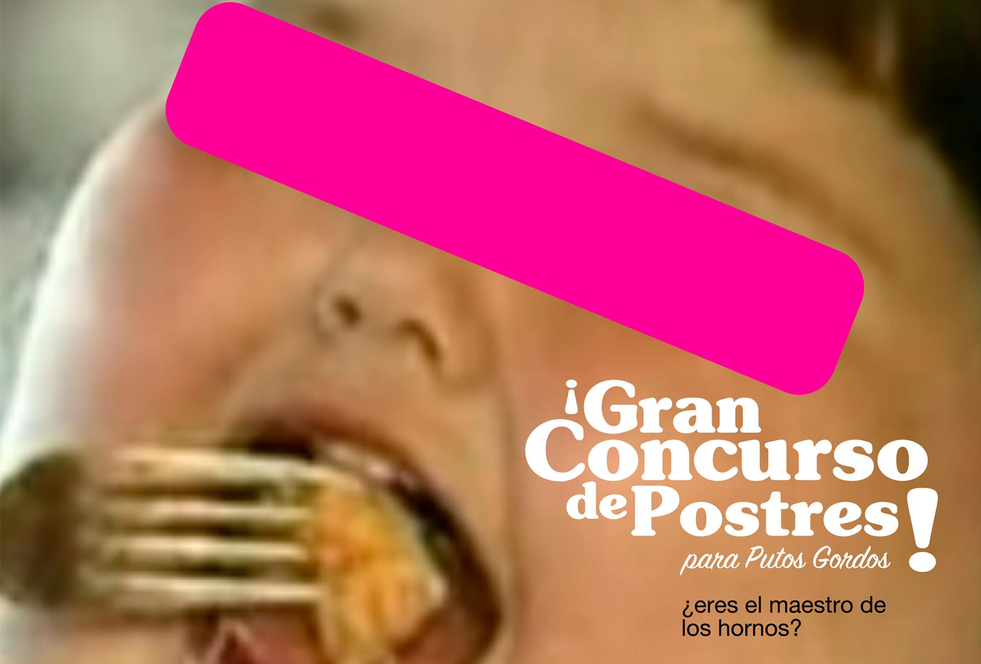 Gran concurso de postres - Detalle póster