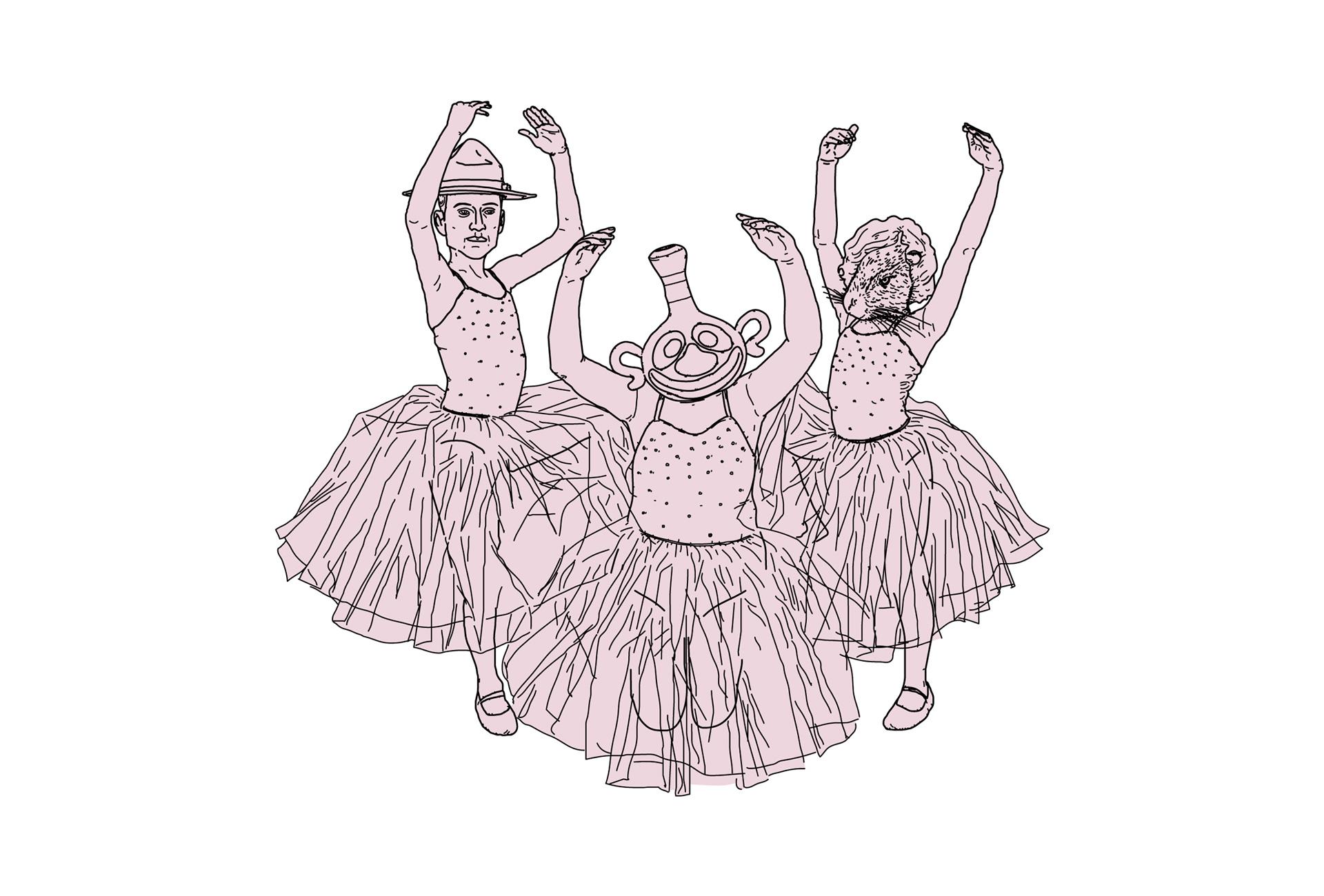 Scumm - Hilo Musical - Ilustración