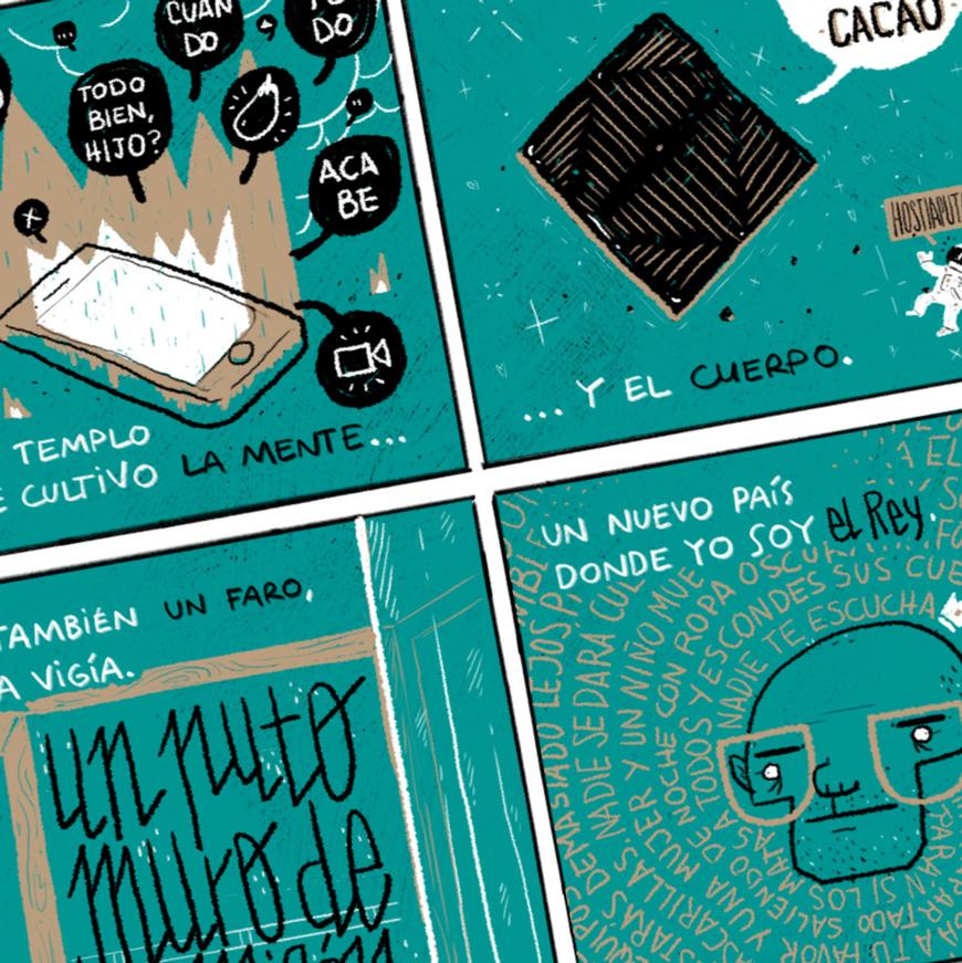 Reto de Puño: El cómic de mi confinamiento